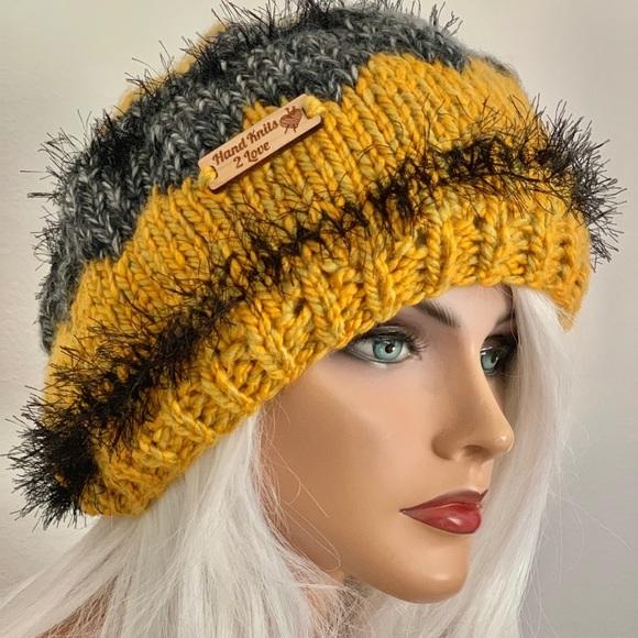 Hand Knits 2 Love ❤️ Accessories - Hand Knits 2 Love Hat Beanie Cap Designer Fashion